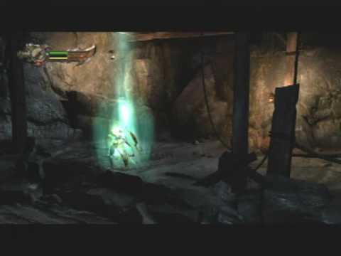 God Of War 3 Demo - Harpy Ride Skip (Speed Run Strategy)