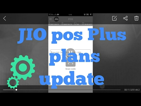 How to update Jio plans in jio pos plus