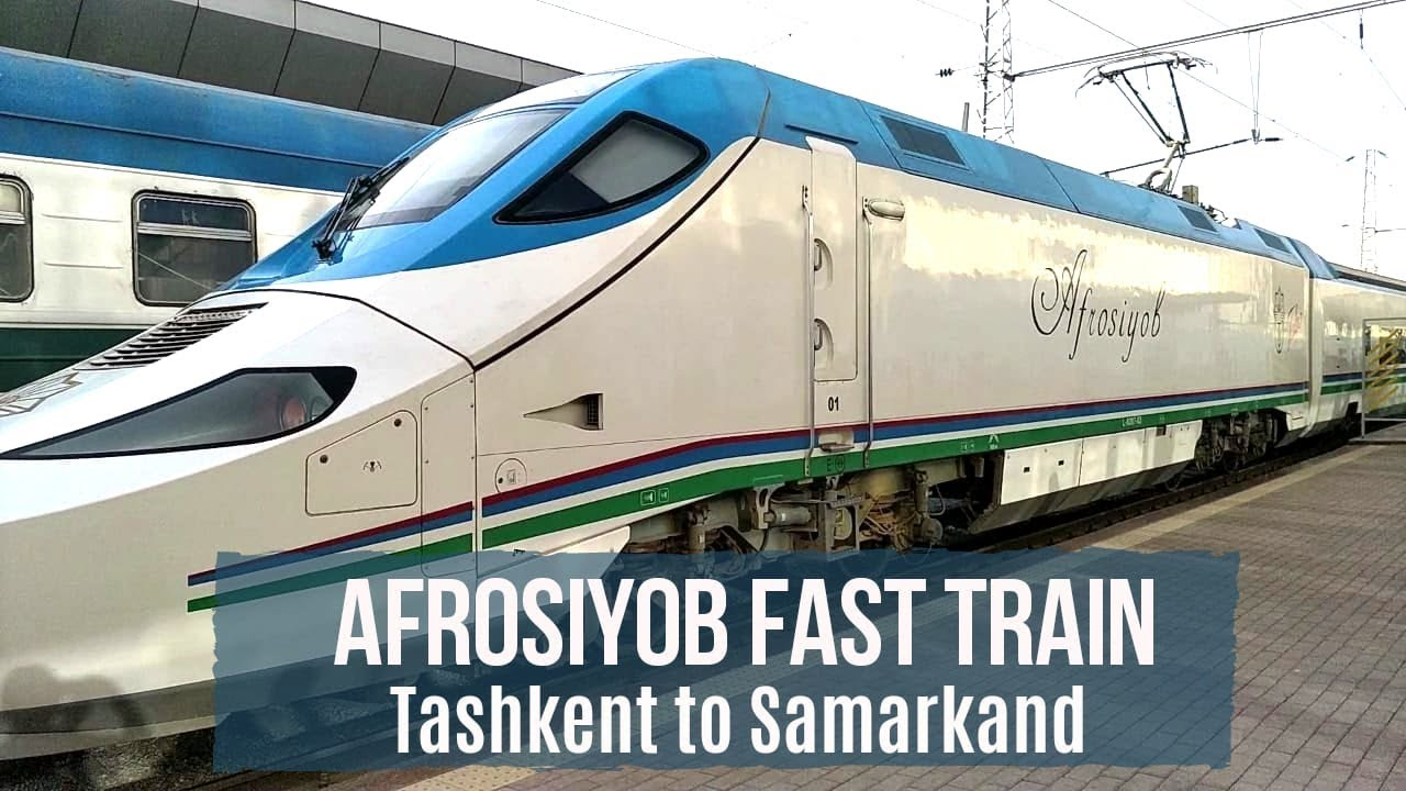 Download Uzbekistan's Afrosiyob Fast Train Review | Tashkent to Samarkand