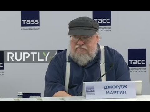 LIVE: GoT author George R. R. Martin talks in St Petersburg