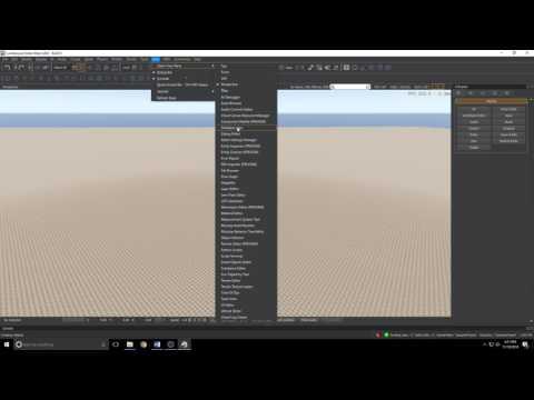 Amazon Lumberyard - The UI Editor Part 1