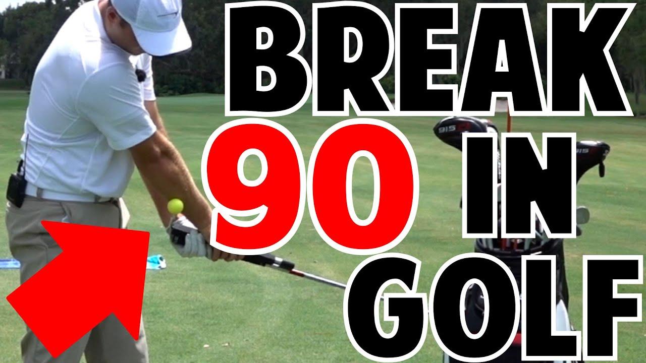 how to break 90 in golf youtube. Black Bedroom Furniture Sets. Home Design Ideas