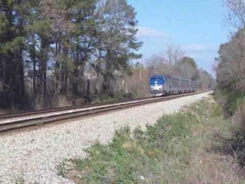 Amtrak Train #59 Jackson MS Sunday 12/16/2007