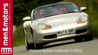 Richard Hammond Compares The Porsche Boxster vs Boxster S (2001)
