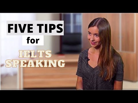 5 Quick Tips for IELTS Speaking