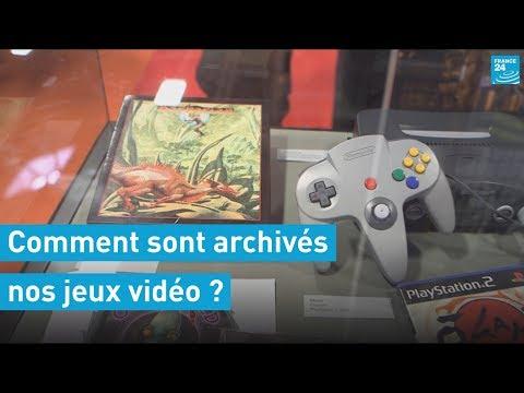 À la Bibliothèque nationale de France, les jeux vidéo sont archivés pour l'éternité