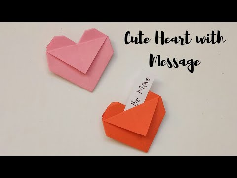 easy-valentine's-craft-ideas-|-origami-heart-|-diy-craft-ideas-with-paper-#valentinescrafts