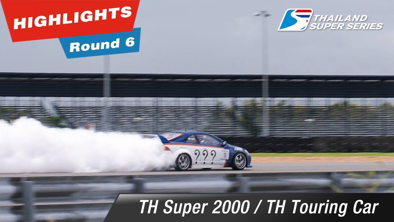 Highlights Thailand Super 2000/ Thailand Touring Car : Round 6 @Chang International Circuit