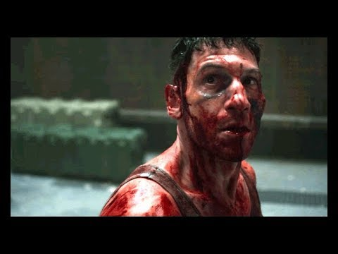 Marvel's The Punisher 1x12 Full Scene Frank Castle Kills Rawlins/Agent Orange Death Scene