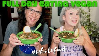How We Ate (& Exercised) In A Day As 50 Year Old Vegans