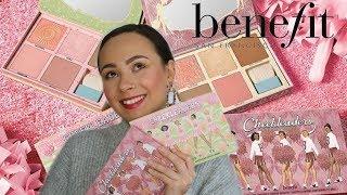 Benefit Cosmetics The Cheekleaders Squad Palettes   Pink Squad & Bronze Squad