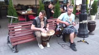 �������� ���� Уличные музыканты.Арбат.La Drumm ������