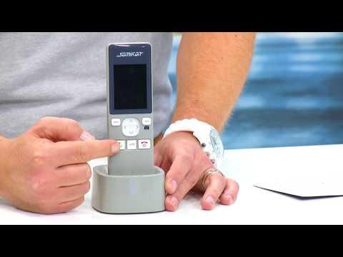 Somikon Funk-Türsprech-Anlage mit Videoübertragung
