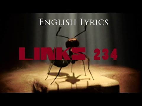 "RAMMSTEIN ""Links 2 3 4"" English Lyrics HD"