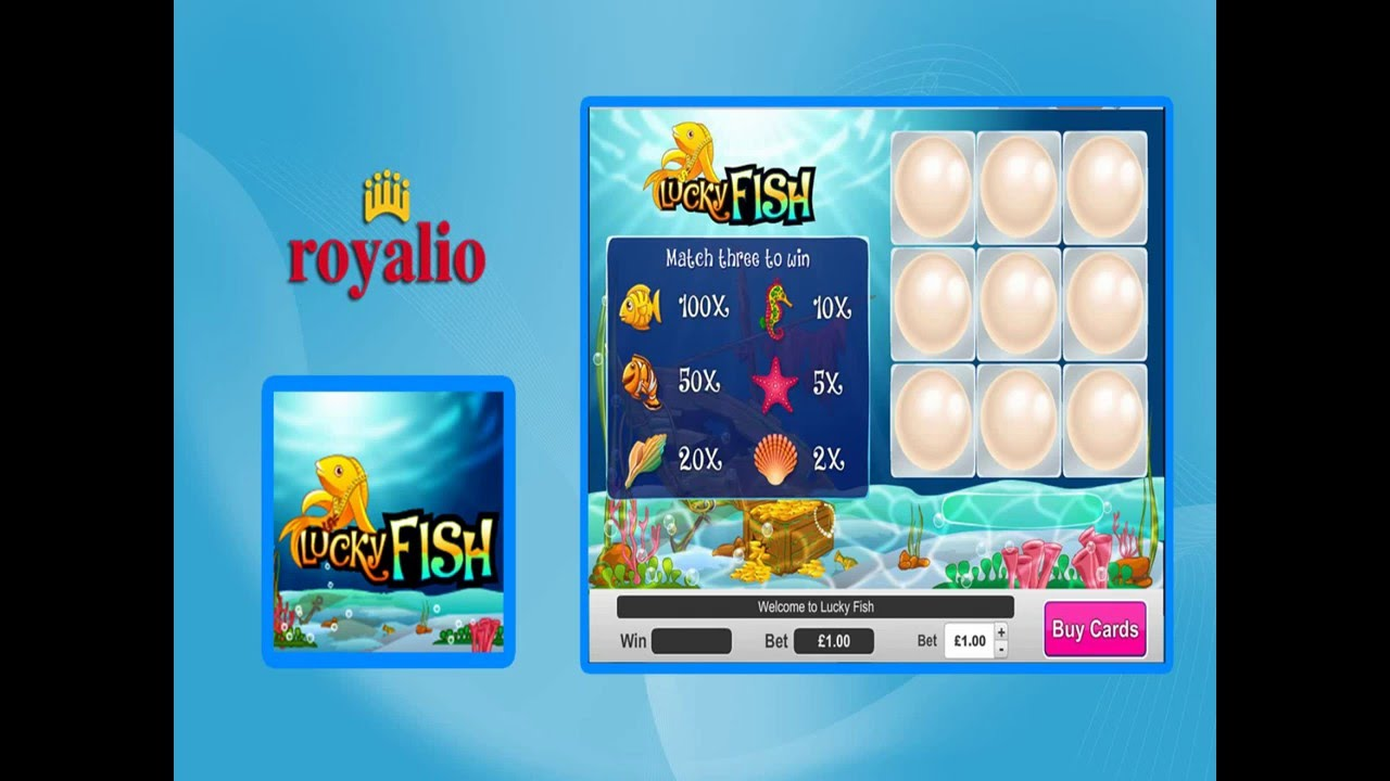 How To Play Lucky Fish Game  Royalio Games