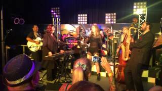 Linda Gail Lewis whole lotta shakin goin on live at the wanderers birthday bash 25.1.15