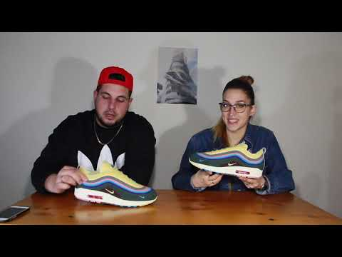 Nike Air Max 197 Sean Wotherspoon REAL VS FAKE (UA) Comparison (@hey_ozzy on Instagram)