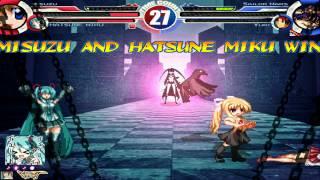 Misuzu & Miku vs Sailor Mars & Yuri MUGEN Battle!!!