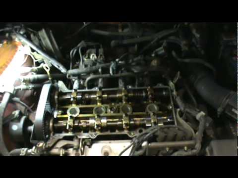 Mitsubishi Diamante Engine Diagram 1999 03 Mazda Protege 1 8l 2 0l Timing Belt Replacement Pt
