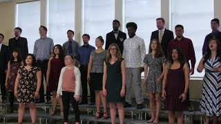 SJSU Choraliers - Stomp on the Fire - Andrea Ramsey