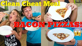 Clean Cheat Meal | Bacon Pizzas!