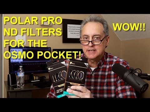 DJI Osmo Pocket - Polar Pro ND Filters For Cinematic Video