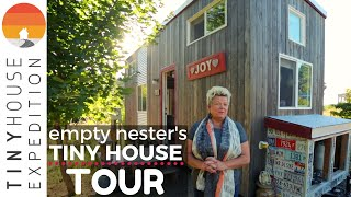Vintage-Inspired Tiny House, From Empty Nest to New Business