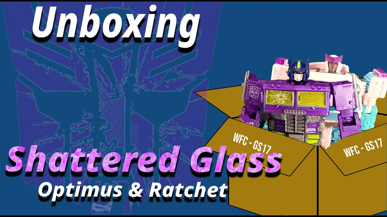 Unboxing Shattered Glass Optimus Prime and Ratchet By Moos Crew