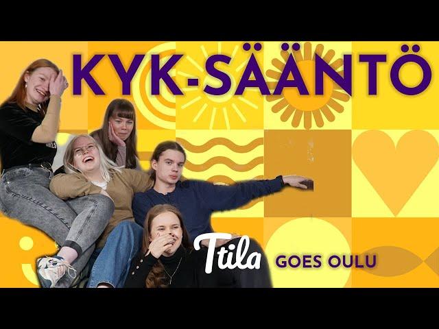 KYK-SÄÄNTÖ - KUUNTELEN, YMMÄRRÄN KUNNIOITAN