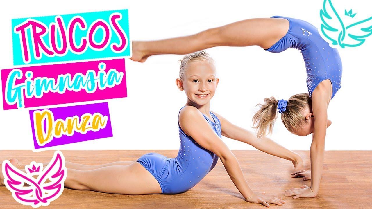 Trucos De Gimnasia Artistica Y Danza Acrobatica Grupo Silfides Youtube