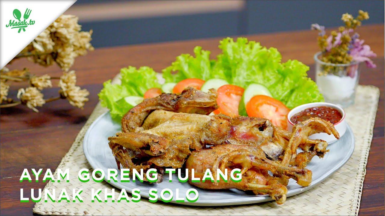 RESEP AYAM GORENG LUNAK SAMPE KETULANG-TULANG!! | Ayam Goreng Tulang Lunak Khas Solo