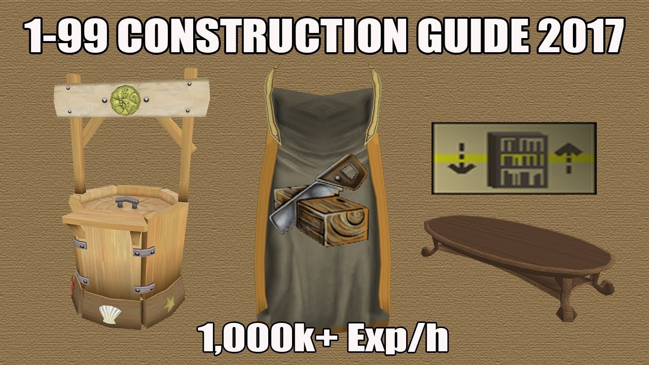 Osrs] ultimate 1-99 construction guide (fastest/cheapest methods.
