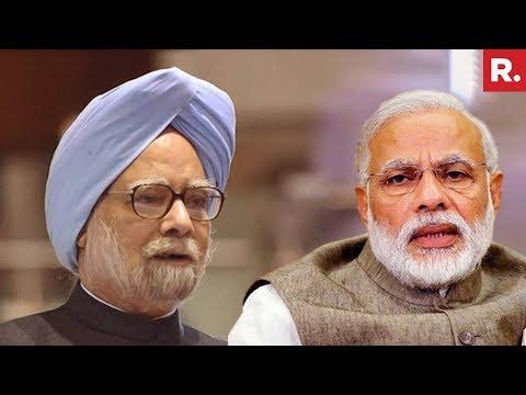 Former PM Manmohan Singh And P Chidambaram Attack PM Narendra Modi