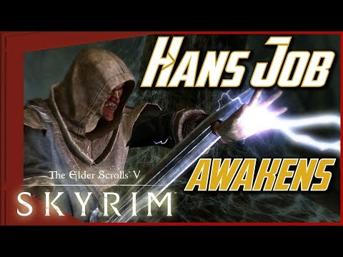 SKYRIM - THE BEGINNING of HANS JOB [#01]