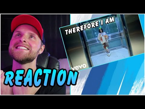 BILLIE EILISH - Therefore I Am REACTION *Official Music Video*