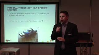 AVG's Rob Gorby at Business Startup Show 2010 | SMB Security Software
