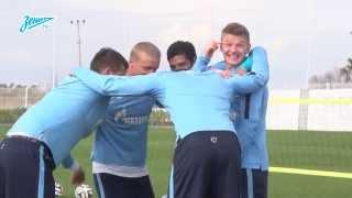 Команда Халка против команды Витселя: футволлей-спарринг