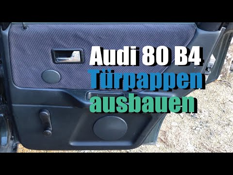 Türverkleidung beziehen neu b4 80 audi Audi A3