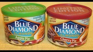 Blue Diamond Almonds: Apple Pie & Cherry Pie Review