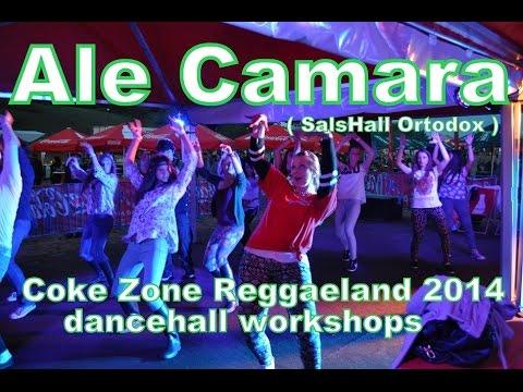 Coke Zone Reggaeland 2014   Ale Camara dancehall workshops 1080p HD