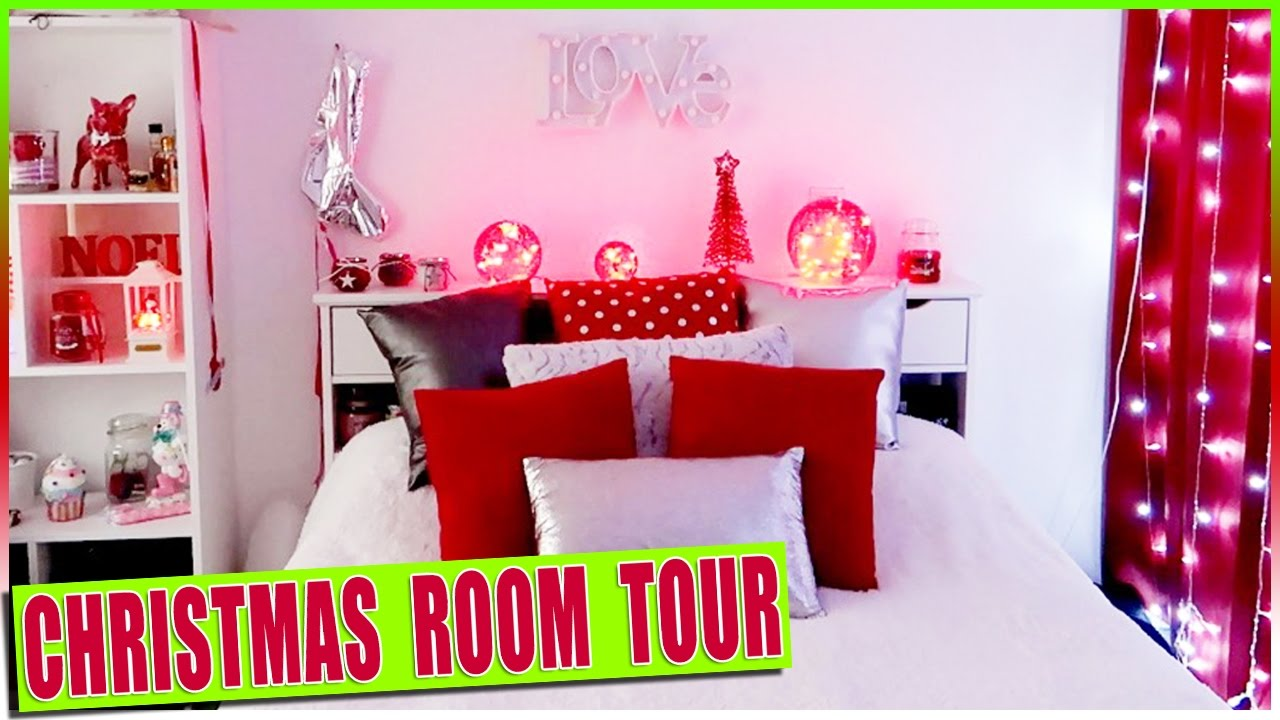 CHRISTMAS ROOM TOUR - Déco de Noël de la chambre - Room Decor