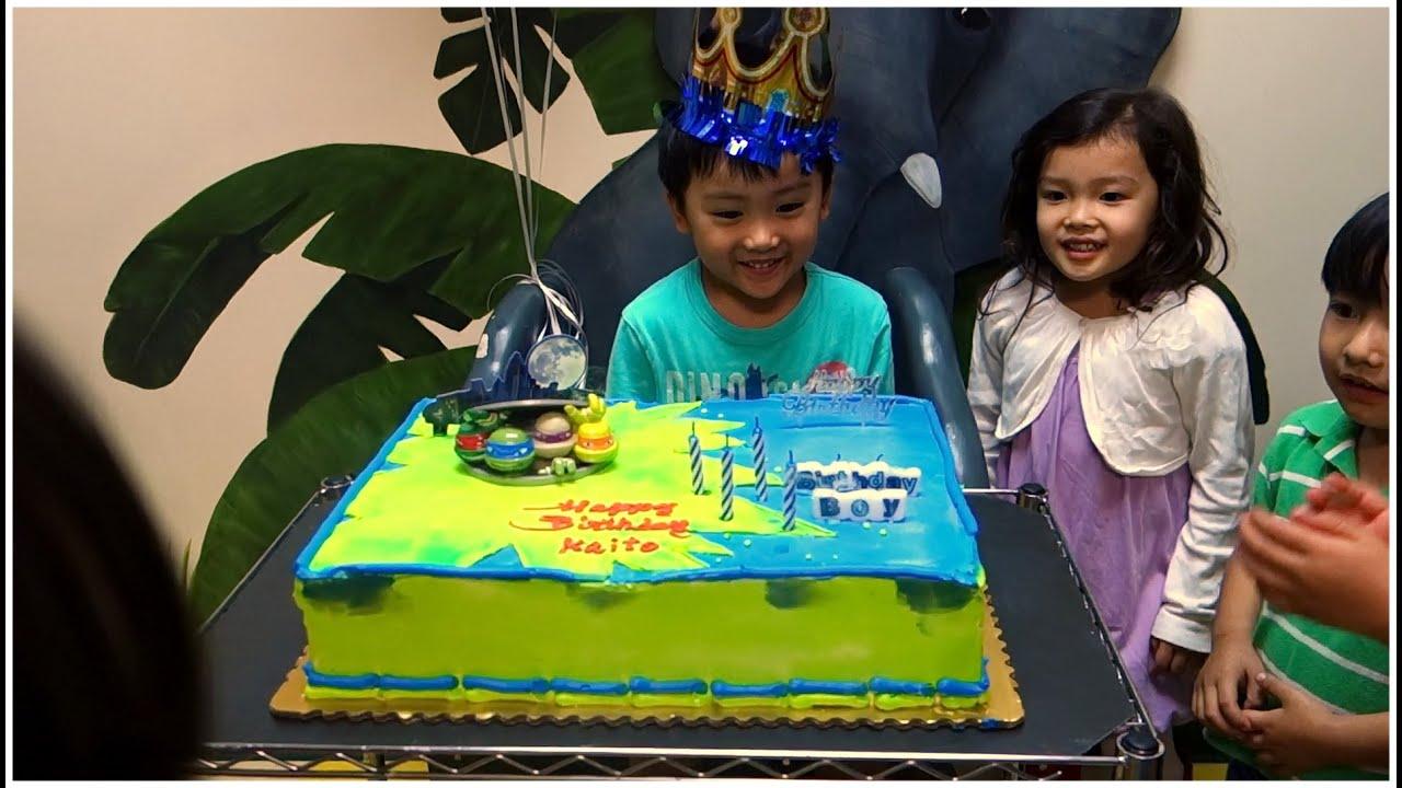 Kai Birthday Cake 2014 11 30 Youtube