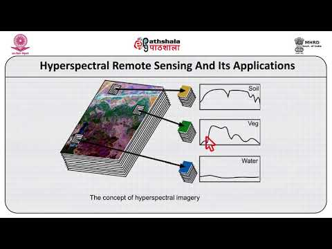 Hyper-spectral remote sensing an its applications
