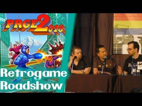 PRGE 2018 - Retrogame Roadshow - Portland Retro Gaming Expo 1080p