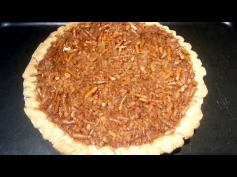 Faux Pecan Pie!!! (No Pecans Used!)