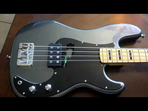 Precision bass with music man pickup