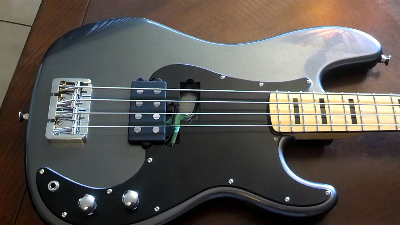 precision bass with music man pickup youtube. Black Bedroom Furniture Sets. Home Design Ideas