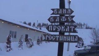 видео Горнолыжный курорт Большая Кузьминка. Липецк