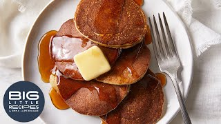 3-Ingredient Pancakes | Big Little Recipes