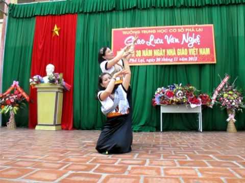 Mua hoa Cham Pa.mpg - THCS Pha Lai - TX Chi Linh - HD